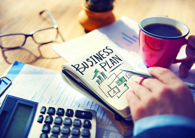 Produce a Business Plan, including 3 years full finances