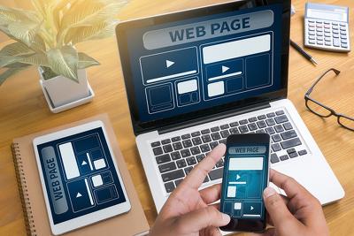 Design SEO friendly Squarespace / Wordpress Responsive website.