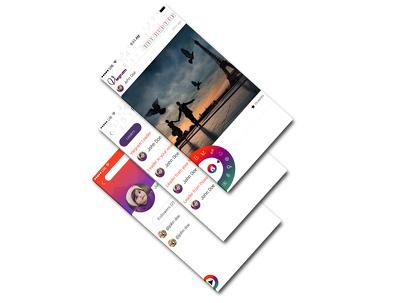 Design wireframes/mockups for mobile app upto 10 screens