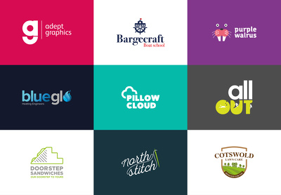 Design a unique and professional logo + source files