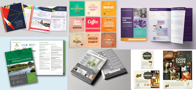 Do 30 - 40  pages layout designs (ebook, brochures, Indesign..)