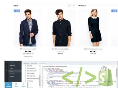 Do SHOPIFY Theme Customization, Creation and Site Issue Fixes