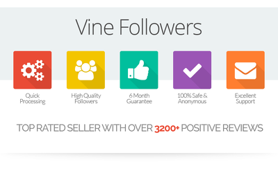 Add 1,000 genuine Vine followers to your profile