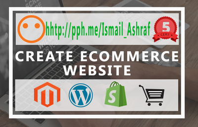 Design and develop eCommerce website in WordPress