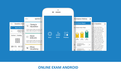 Develop Online Exam App with result functionality