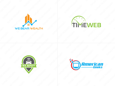 Premium Quality Logo Design + Unlimited Concepts & Revisions