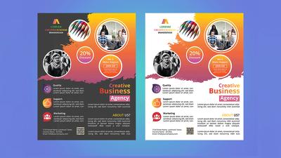 Design Flyer, Brochure, Poster, Banner