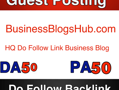Publish guest post on Businessblogshub --  businessblogshub.com