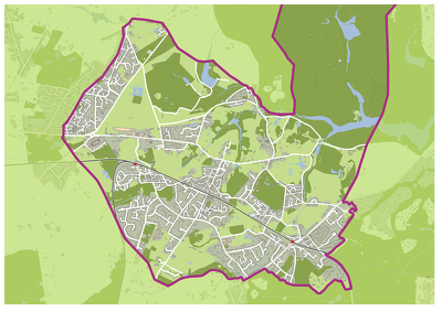 Produce high quality maps for print or digital media
