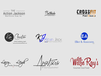 Design Photography Logo Watermark Or Signature In Just 24 hours