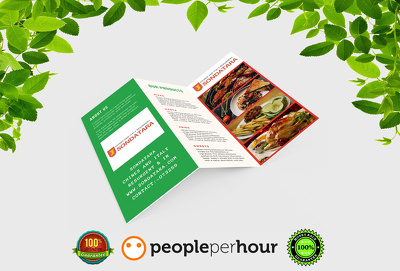 Design awesome Tri-Fold Brochure