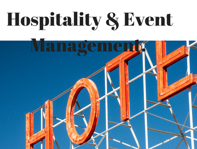 Provide hospitality and event management expertise and support
