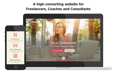 Build a freelancer website to impress clients & launch your biz