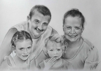 Make realistic drawing from your photograph