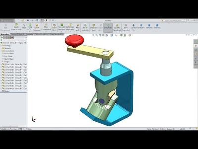 Design 2d drawing to 3d by using solidworks and autcad