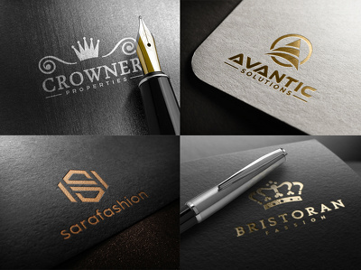 Design Premium Logo + Luxury + Professional + Source File
