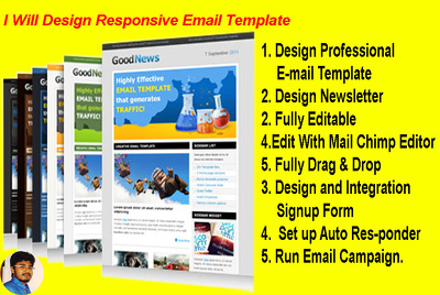 Design Responsive E-mail Template