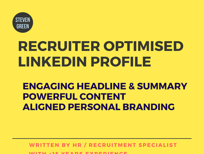 HR/Recruiter will deliver Linkedin Profile Rewrite