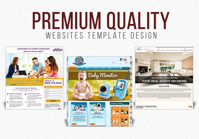 Design a Breath-Taking Homepage Template of Website