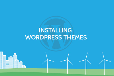 Install your WordPress theme on your domain
