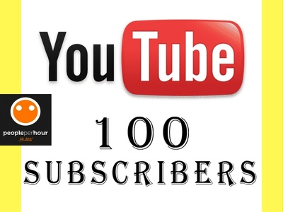 Provide 120 YouTube subscribes for you