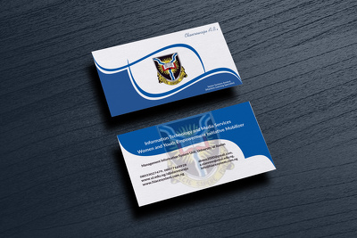 Design your professional Personal/business card creatively
