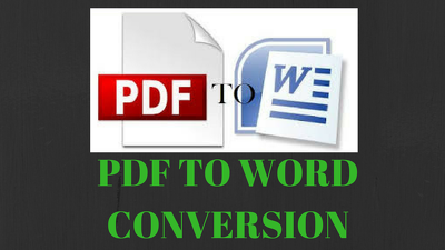 Convert 30 pages of PDF to Word or Image or Text