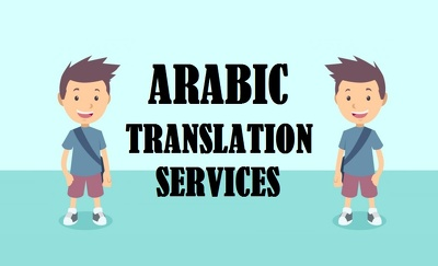 English to Arabic translation - just 10$ per 1000 words