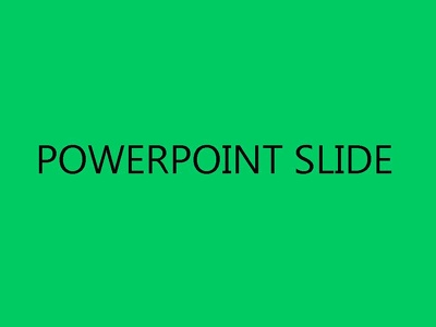 Write a PowerPoint Slide (up to 250 Words)