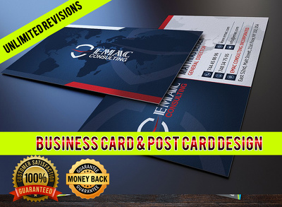 Design Business card in 2hrs with 3concept