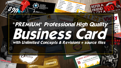 Premium Professional High Quality Business cards