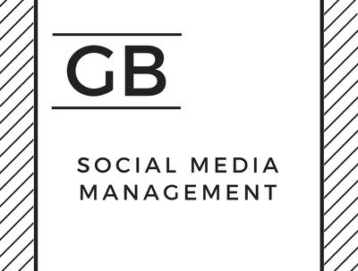 Manage 3 social media platforms for 1 week