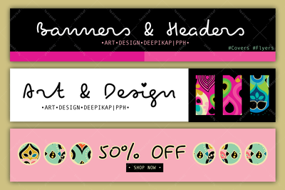 Design business cards or banners or flyers or covers or headers