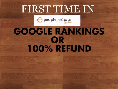 Rank In Google Or Get Full Refund Best SEO In Uk/USA