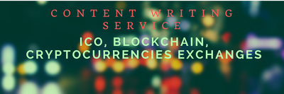 Write an Article On ICO, Blockchain, Cryptocurrencies Exchanges