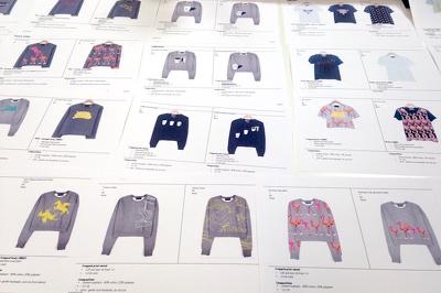 Create garment technical flat drawings