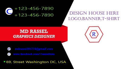 Make a visiting or business card