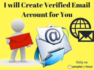 Create Verified Email Account for You