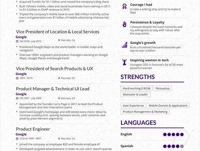 Create a Stunning 1 page CV that will land interviews