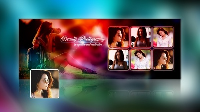 Design facebook cover photo for social media marketing