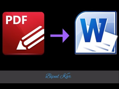 Convert Your PDF File into Editable Word File