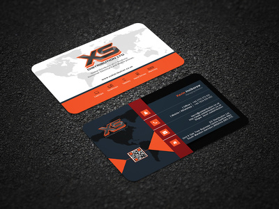 Design A Double Sided Professional Business Card