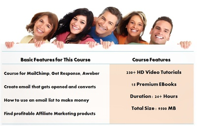 Give Complete Email Marketing Course - Video Courses and eBooks