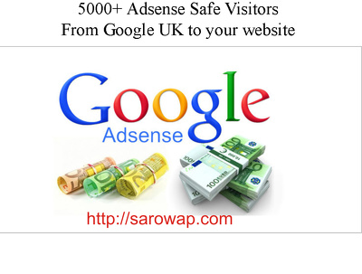 5000+ Adsense Safe Visitors From Google UK to your website