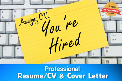 Professionally Rewrite your CV / Resume