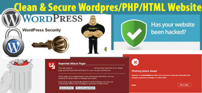 Clean restore a hacked infected website (WordPress or PHP)