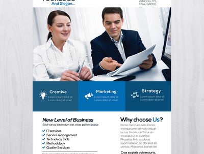 Design most Appealing Business cards  @ Flyers