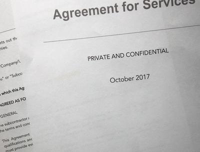 Provide a customised freelancer agreement