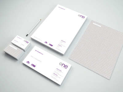 Design agency quality logo and corporate stationery