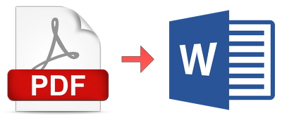 Convert PDF document/Images to Word Document 25 pages